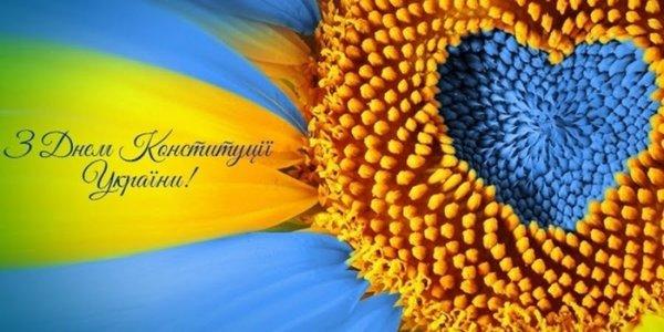 Вітаємо з Днем Конституції України! Графік роботи!